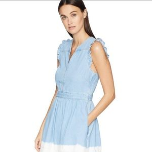 Kate Spade Denim Tie Dye Dress